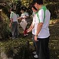 2012暑期教師生命智慧禪定營_靈修中心內,隕石遍佈