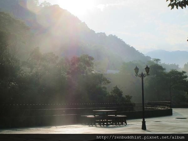 2012暑期教師生命智慧禪定營_清晨時分的關西靈修中心
