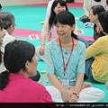2012暑期教師生命智慧禪定營_老師們親切的笑容,讓氣氛融洽極了