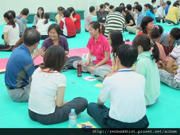 2012暑期教師生命智慧禪定營_老師們互相認識時間