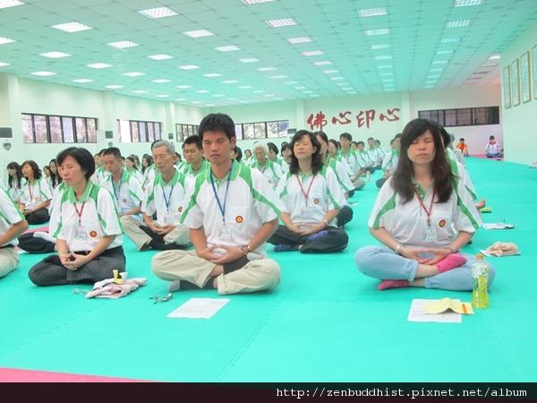 2012暑期教師生命智慧禪定營_在定中,讓身心靈好好的休息