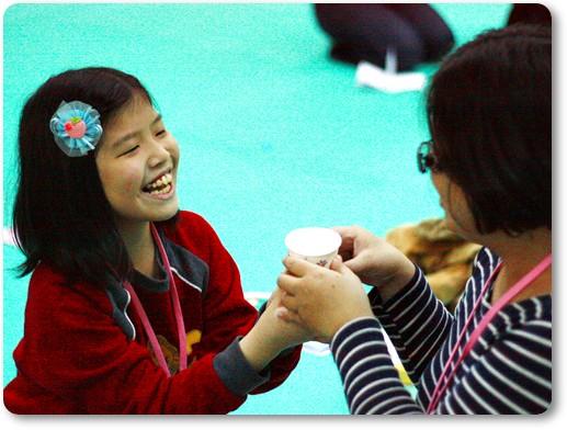 同心協力親子成長營感恩心