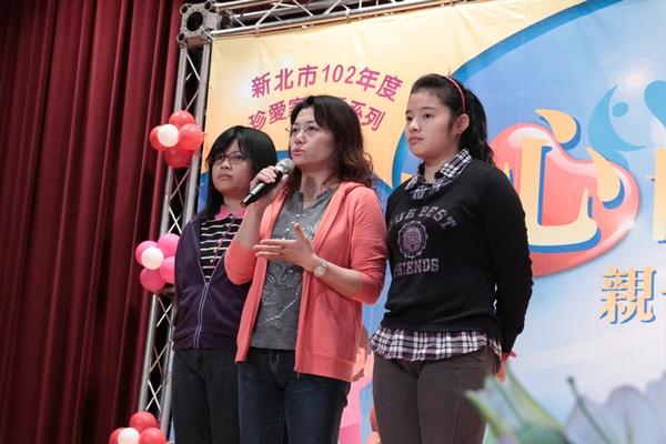 三重區的王媽媽分享著自己禪修後心境上的改變