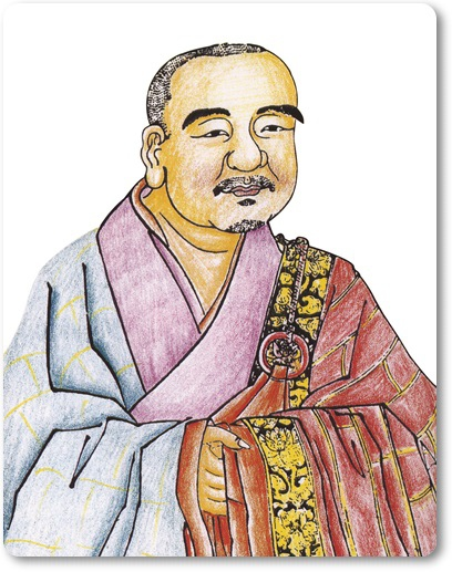 禪宗三祖僧燦大師圖