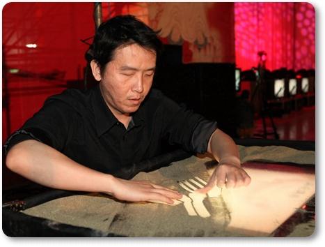 范學文老師的巧手,將禪宗傳承的精隨透過短短的10分鐘,表達的淋漓盡致
