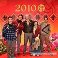 外國朋友也來參加新春團拜