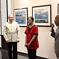 三位藝術家共同登台