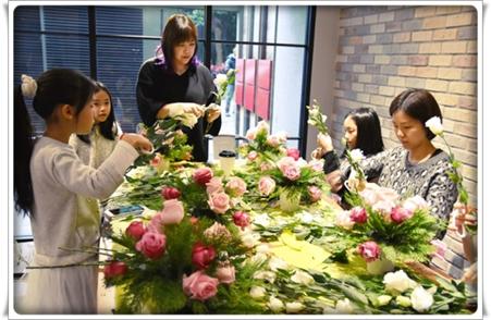 親子花藝體驗課程1