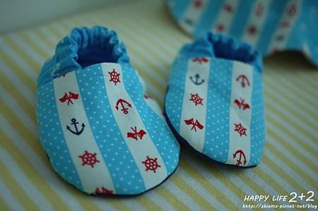NO31船錨海洋嬰兒鞋