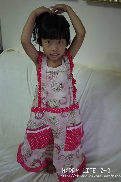NO68粉浪漫英國女王圍裙