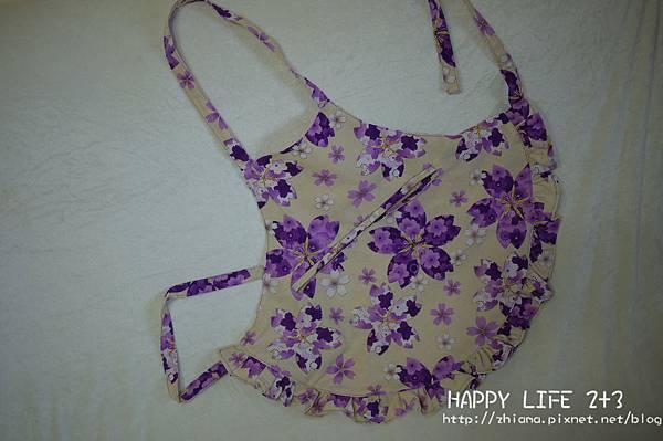 NO66紫櫻花小圍裙