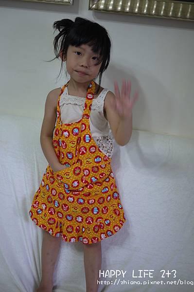 NO68兒童版可愛動物小圍裙