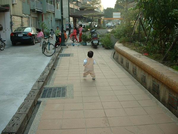 公園曬小孩