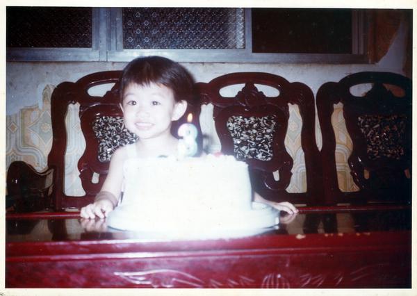 3歲的生日
