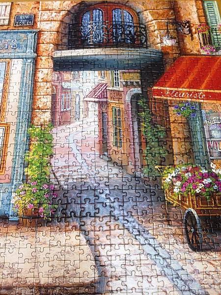 歐布蘭畫中常見的道路,不知道會通往哪裡