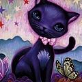 29687-1:小黑貓(Black Kitty)_原圖