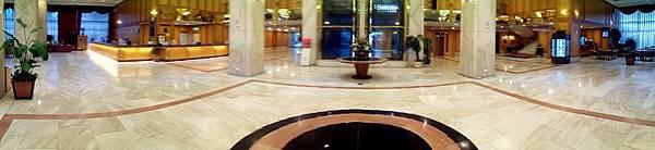 桃園住都飯店的大廳