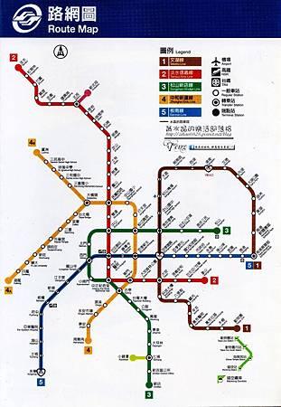 阿宏捷運路線圖