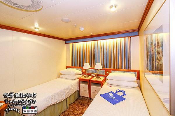 公主遊輪藍寶石公主號房間篇011.jpg