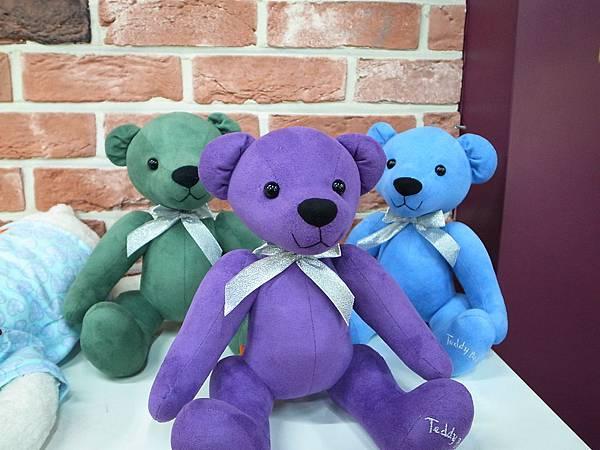 藍綠紫小熊