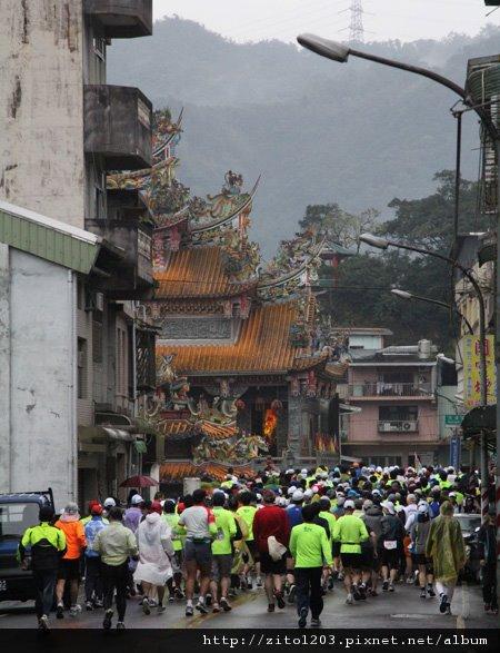 『2012第四屆雙溪櫻花馬拉松,朦朧的櫻花好硬的山路!』 (1)