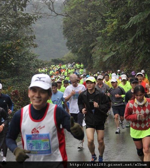 『2012第四屆雙溪櫻花馬拉松,朦朧的櫻花好硬的山路!』 (3)