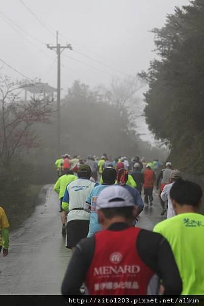 『2012第四屆雙溪櫻花馬拉松,朦朧的櫻花好硬的山路!』 (7)