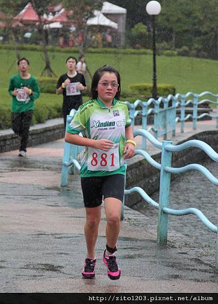 【主題賽事】-『礁溪龍潭湖鐵人二項賽,一路上坡雨不停!』 (4)