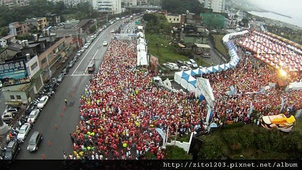 【主題賽事】-『2012 新北市萬金石國際馬拉松,向著細雨迷霧的海岸奔馳吧!』 (1)