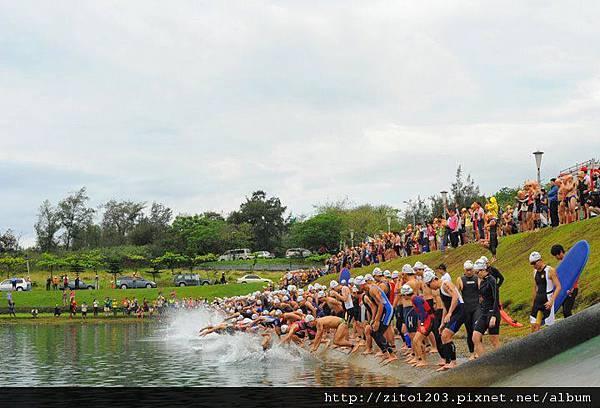 【主題賽事】-『2012台東活水湖國際鐵人三項賽,來挑戰全台最優質的賽場!』 (8)