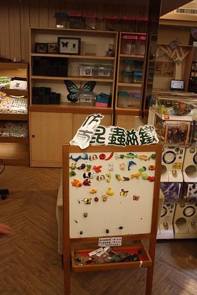 台灣昆蟲館 磁鐵玩具