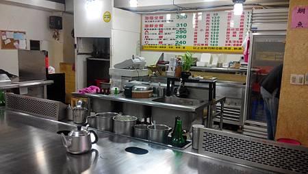 大埔鐵板燒-新民權店 料理台