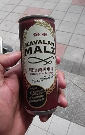 金車噶瑪蘭黑麥汁