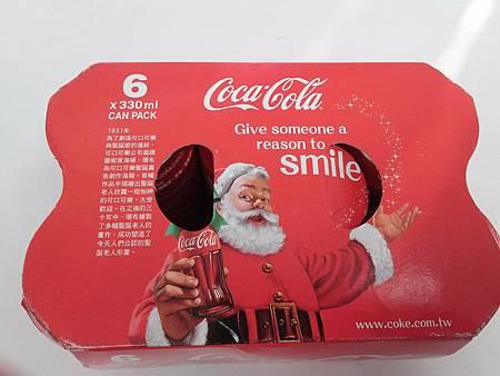 全聯 可口可聖誕組合