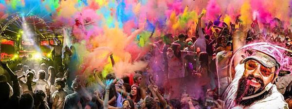 印度五彩節(Holi Festival)