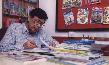 「印度漫畫之父」阿南特•派(Anant Pai)