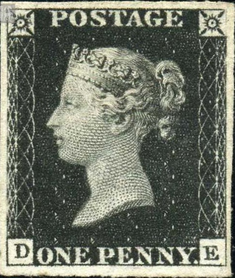 175th-anniversary-of-the-penny-black-stamp