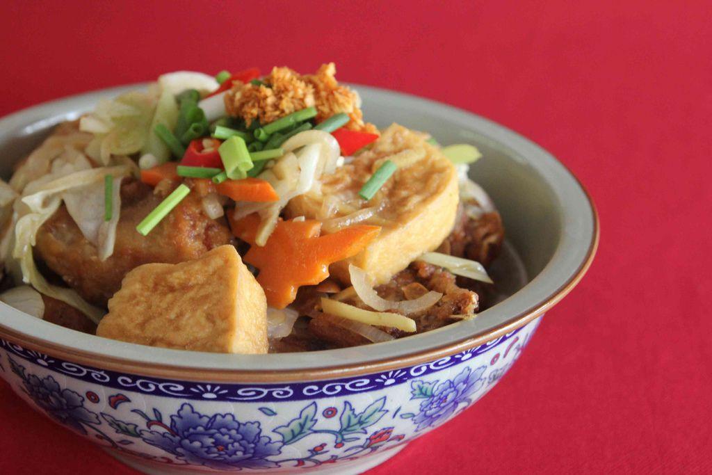 鱼头焖豆腐