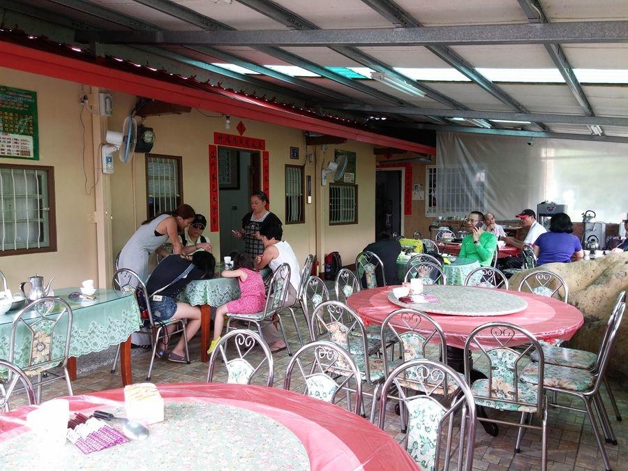 溪頭美食餐廳-亘石庭庭園小吃-用餐空間