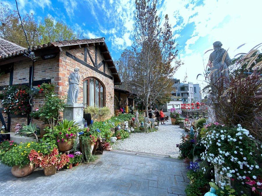 南投市景點美食-文心園花園餐廳