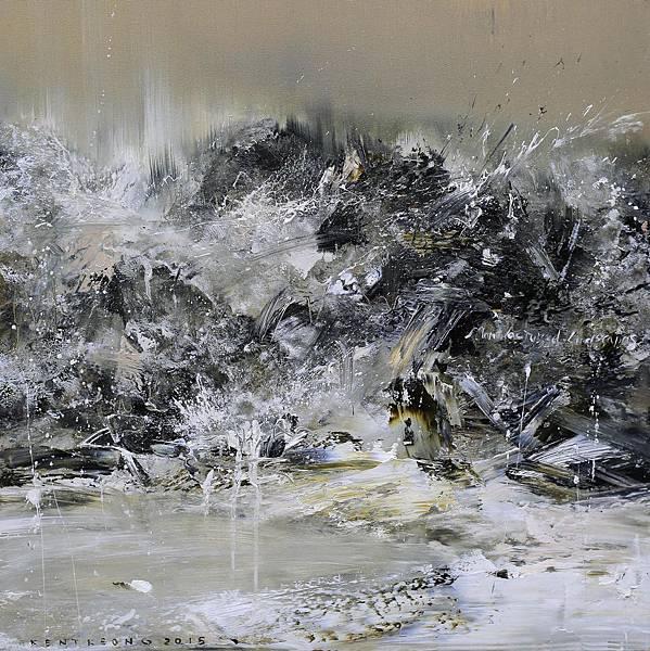暮秋1 58×58cm  2015 oil on canvas ..JPG