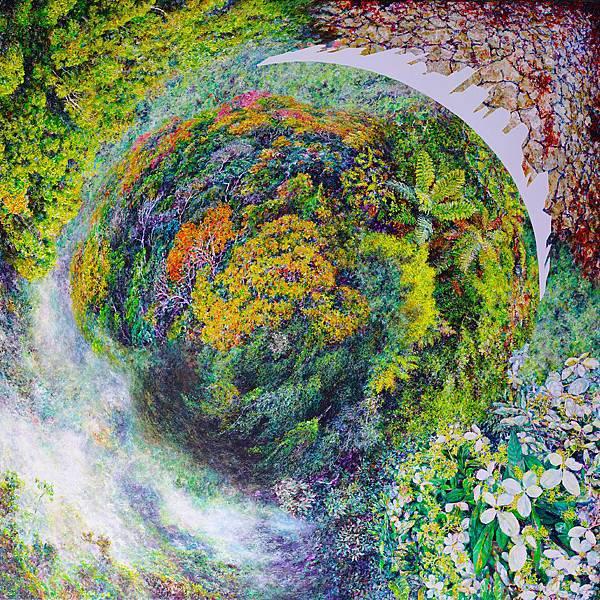 洪天宇 皇冠上的憂鬱 壓克力彩 畫布174x174cm 2015
