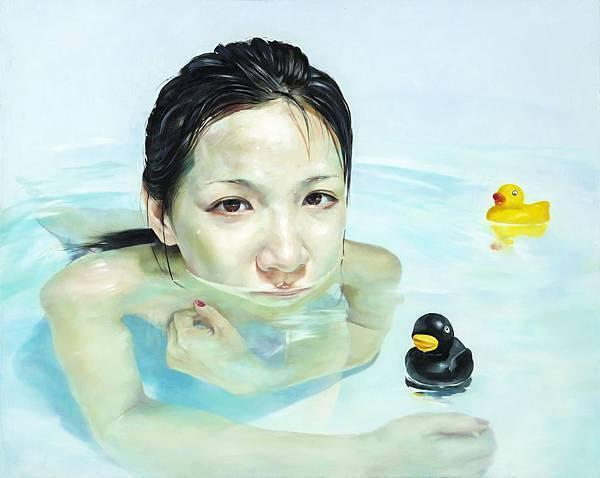 尤瑋毅 游戲人間-3 油彩 畫布 72.5x91cm 2014