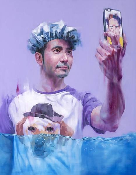 尤瑋毅 「游」戲人間-31 油彩 畫布  116.5X91cm  2016