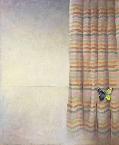 許旆誠 一首詩的時間 I   油彩.壓克力顏料  60.5x50cm (12F)  2016