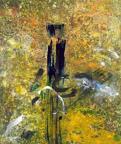 9.陶天麟 菩提迦耶-3 bodhgaya-3 油彩 畫布 72.5x60.5 cm 2016.jpg