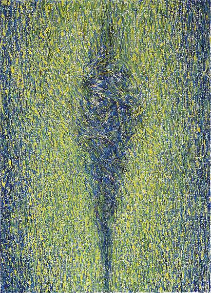 陳建大明 發光體-013  油彩 畫布 65x45 cm  2012