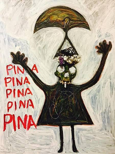 吳介凡 PINA PINA 複合媒材 壓克力 畫布 130x97 cm 2015.jpg