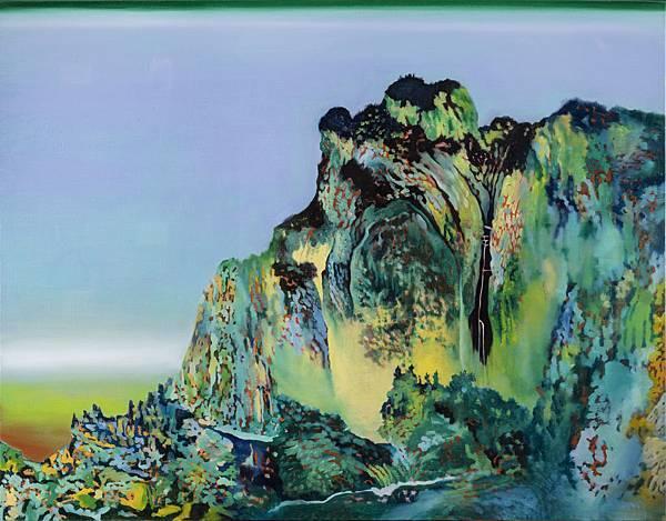 高雅婷 山,油彩畫布,116.5x91cm,2017.jpg