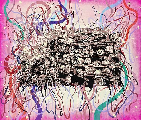 頭骨們,油彩畫布,72.5x60.5cm,2015.jpg